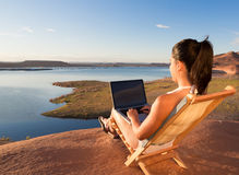 Lake Powell Office Stock Images