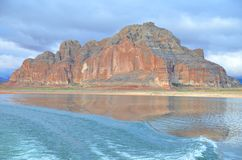 Lake Powell in Page, Arizona USA Stock Images