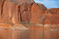 Lake Powell in Page, Arizona USA Stock Photography