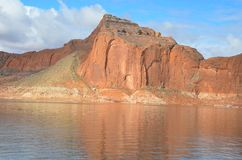 Lake Powell in Page, Arizona USA Royalty Free Stock Images