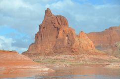 Lake Powell in Page, Arizona USA Royalty Free Stock Image