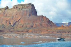 Lake Powell in Page, Arizona USA Royalty Free Stock Photography