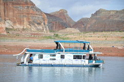 Lake Powell in Page, Arizona USA Royalty Free Stock Photos
