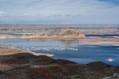 Lake powell Page City, Arizona Stock Images