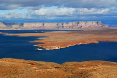 Lake Powell Penninsula Stock Photography