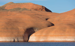 Lake Powell Rock Formation Closeup 2 Stock Image