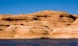 Lake Powell Rock Formation Hill Stock Images