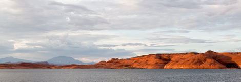 Lake Powell Rocks at Sunset Stock Photos