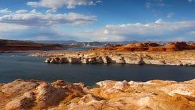 Lake Powell Shore Arizona. Lake Powell shore. Colorado river, near Page. Arizona, USA Royalty Free Stock Photo