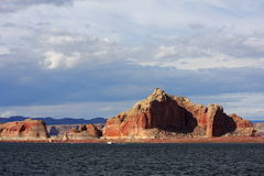 Lake Powell. Sunny afternoon at lake powell Arizona Stock Photography