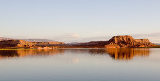 Lake Powell Sunrise Royalty Free Stock Photography