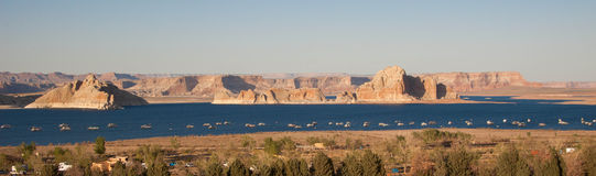 Lake Powell, USA. Lake Powell at sunset, USA Royalty Free Stock Image