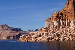 Lake Powell. Lake Powell - view from the water Stock Photo