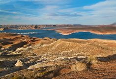 Lake Powell Views Stock Image