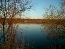 Lake in Poznań Royalty Free Stock Image