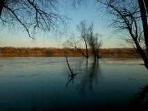 Lake in Poznań Stock Images