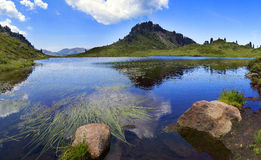 Lake Pozze Royalty Free Stock Photo