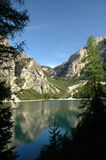 Lake Prags. A wonderful lake in north italy Royalty Free Stock Photography