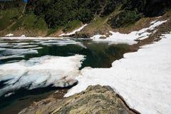 Lake Prato Royalty Free Stock Image