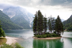 Lake Predil Royalty Free Stock Photography