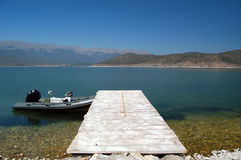 Lake prespa , macedonia Royalty Free Stock Photo