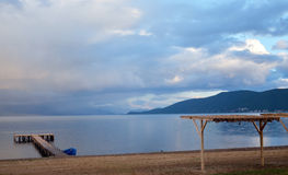 Lake prespa, macedonia Stock Photos