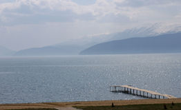 Lake Prespa, Macedonia Stock Photography
