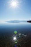 Lake Prespa, Macedonia Stock Image