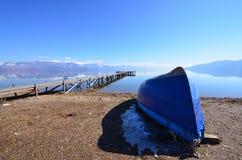 Lake Prespa, Macedonia Royalty Free Stock Photo