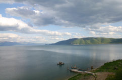 Lake Prespa, Macedonia Royalty Free Stock Photo