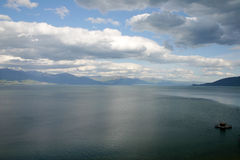 Lake Prespa, Macedonia Stock Photo