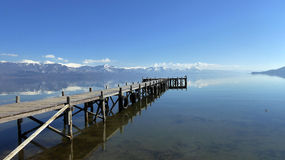 Lake Prespa, Macedonia Royalty Free Stock Photography