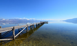 Lake Prespa, Macedonia Stock Image