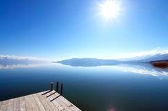 Lake Prespa, Macedonia Stock Photo