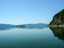 Lake Prespa in Macedonia Stock Photos