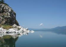 Lake Prespa in Macedonia Royalty Free Stock Images