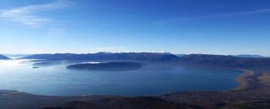 Lake Prespa, Macedonia,panorama Royalty Free Stock Images