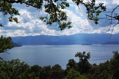 Lake Prespa, Macedonia Royalty Free Stock Photos