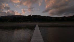 Lake Prespa, Macedonia stock footage