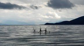 Lake Prespa Royalty Free Stock Image