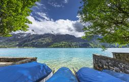 At the lake promenade Royalty Free Stock Image