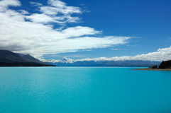 Lake Pukaki Stock Photo
