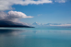 Lake Pukaki Royaltyfri Bild