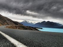 Lake Pukaki Royaltyfri Foto