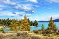 The Lake Pukaki Stock Images