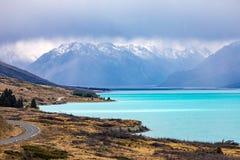 Lake Pukaki Royalty Free Stock Photography