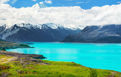 Lake Pukaki Royalty Free Stock Photos