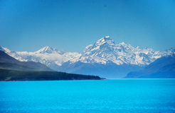 Lake Pukaki mount Cook Stock Photos