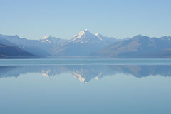 Lake Pukaki, New Zealand Stock Image