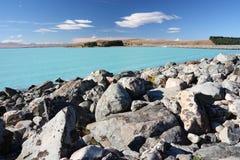 Lake Pukaki, New Zealand Stock Photography